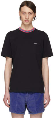 Noah NYC Black Wave Collar T-Shirt