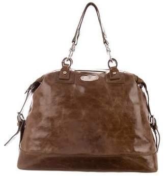 Celine Leather Top Handle Bag