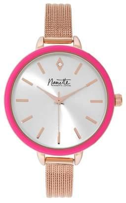 Nanette Lepore NANETTE Women's Mesh Bracelet Watch