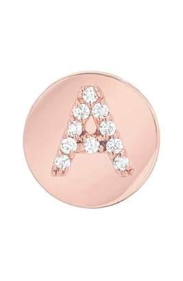 Mini Mini Jewels Framed Diamond Initial Earring