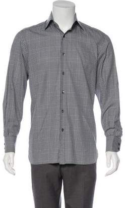 Tom Ford Printed Button-Up Shirt