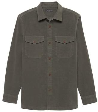 Banana Republic BR x Kevin Love | Italian Moleskin Shirt Jacket