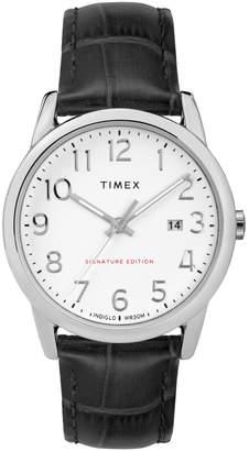 Timex Easy Reader Chrome Watch TW2R64900