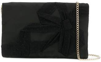 RED Valentino flap clutch