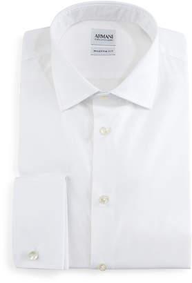 Armani Collezioni Modern-Fit Dress Shirt, White