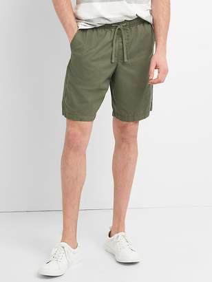 """9"""" Drawstring Shorts in Twill"""