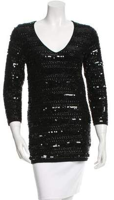 Yigal Azrouel Cut25 by Cashmere Beaded Sweater