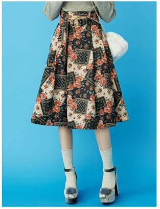 dazzlin (ダズリン) - dazzlin バッククロスフレアスカート ダズリン スカート