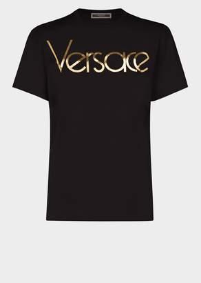 Versace Metallic Vintage Logo T-shirt