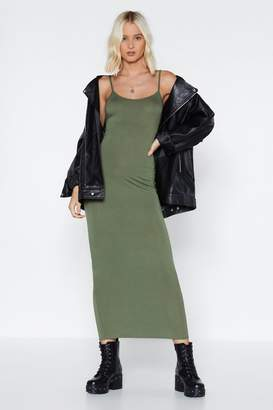 Nasty Gal To the Maxi Cami Dress