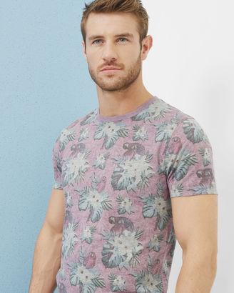 Tropical print Tshirt $89 thestylecure.com