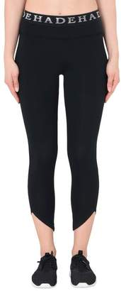 Deha LOGO BANDED TRAIN CROP Leggings