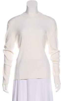 St. John Knit Mock Collar Sweater