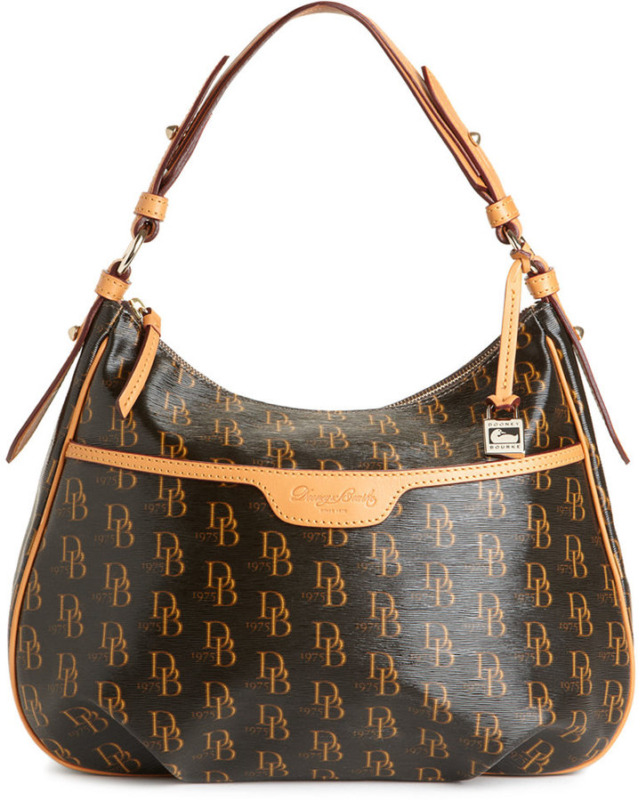 Dooney & Bourke Handbag, Signature 1975 Collins Shoulder Bag