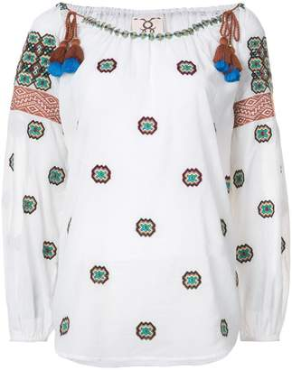 Figue Peia embroidered top