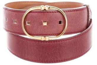 Hermes Vintage Leather Belt