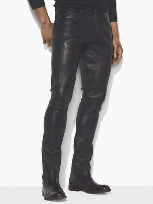 John Varvatos Leather Pant