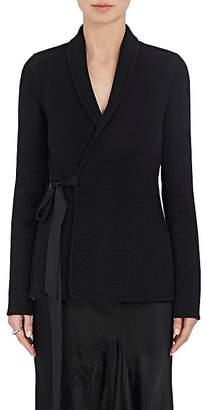 Rick Owens Women's Cashmere Flannel Wrap Jacket
