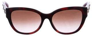 Versace Medusa Embellished Sunglasses