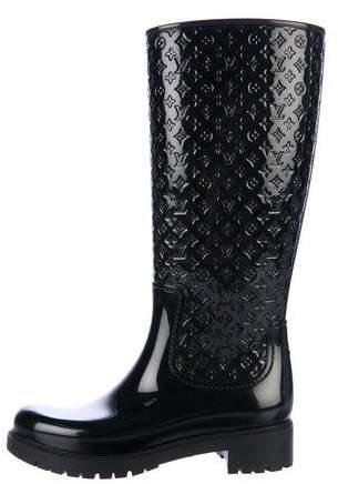 Louis Vuitton High Splash Rain Boots