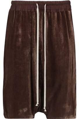 Rick Owens Velvet Shorts