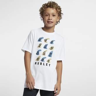 Hurley Premium Fin Face Boys' T-Shirt
