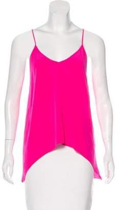 Michelle Mason Silk Sleeveless Top