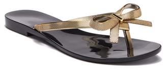 Melissa Harmonic Bow Chrome II Sandal