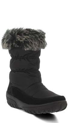 Spring Step Rolim Faux Fur Trim Waterproof Boot
