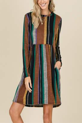 annabelle Ultra Soft Stripe Dress