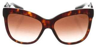 Dolce & Gabbana Tortoiseshell Gradient Sunglasses w/ Tags