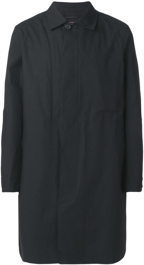 Z Zegna single breasted formal coat