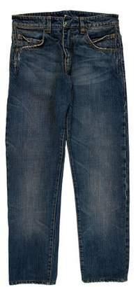 Balmain Selvage Skinny Jeans