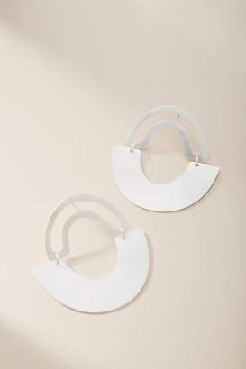 Anthropologie Anastasia Hooped Post Earrings