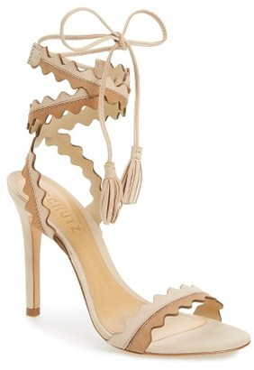 Women's Schutz Lisana Wraparound Sandal $189.95 thestylecure.com