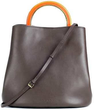 Marni Pannier leather handbag