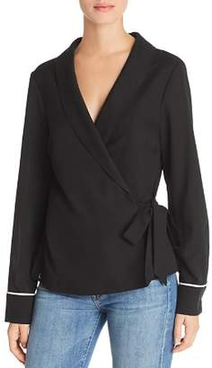 Aqua Pajama Wrap Top - 100% Exclusive