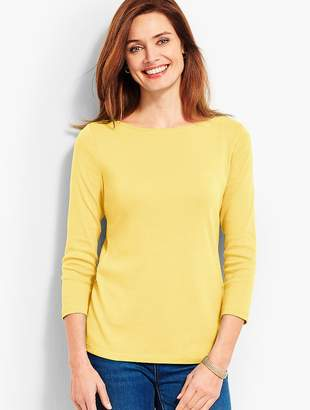 f28d833f Talbots Yellow Women's Longsleeve Tops - ShopStyle
