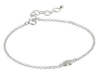 Dogeared The Lucky Charm Bracelet, Hamsa Charm On Chain