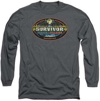 Victoria's Secret Survivor CBS TV Series Heroes Villains Adult Long Sleeve T-Shirt