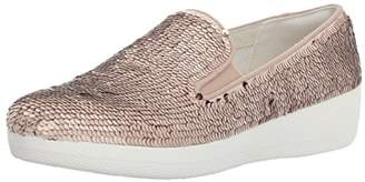 FitFlop Womens Superskate with Sequins Slip-On Loafer
