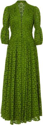 Cult Gaia Willow Cotton Lace Maxi Dress