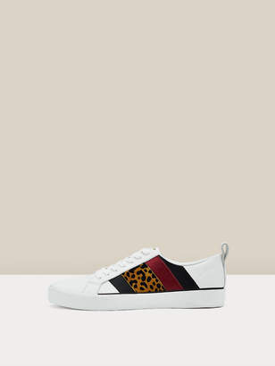 Diane von Furstenberg Tess 16 Leather Sneakers