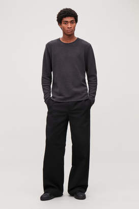 Cos RELAXED KNITTED JUMPER