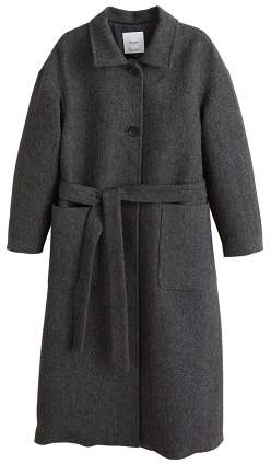 Buy Buttoned herringbone coat!