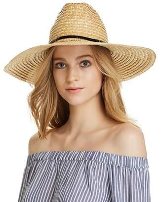 Aqua Braided Straw Sun Hat - 100% Exclusive