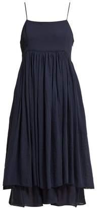 Loup Charmant Lily Layered Cotton Dress - Womens - Navy