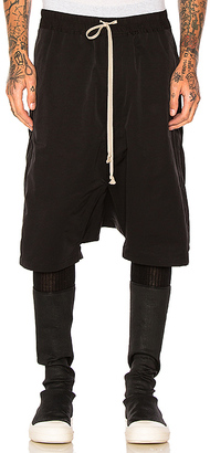 DRKSHDW by Rick Owens Shorts in Black $555 thestylecure.com