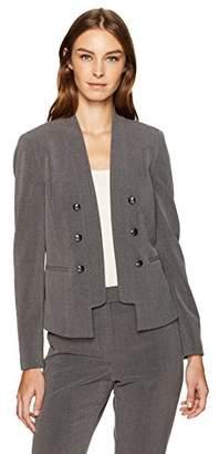 Tahari by Arthur S. Levine Women's Bistretch Military Jacket