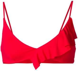 Marysia Swim asymmetric bikini top